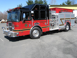 Summit Hill Diligence Fire Company's New Engine / Pumper